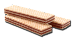 wafer nocciola